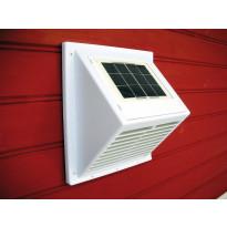 MiniVent-tuuletin Sunwind integroidulla aurinkopaneelilla valkoinen
