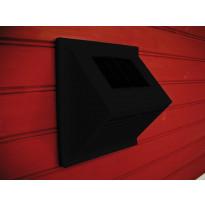 MiniVent-tuuletin Sunwind, integroidulla aurinkopaneelilla, musta