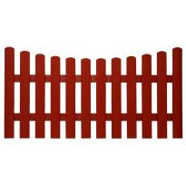 Laakso aitaelementti, 86/76x177 cm, punainen