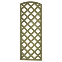 Aitaelementti Sateenkaari A20 600x1600 mm vinoristikko vihreä