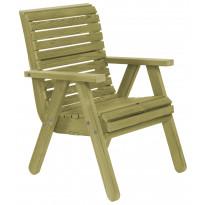 Tuoli Elli N116 vihreä