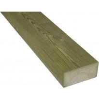 Terassin runkopuu 48x98x2395mm, kestopuu, A, vihreä