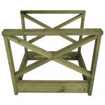 Kaarisiltaelementti T12 1000 mm vihreä