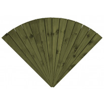 Terassielementti Viuhkalaatta T15 vihreä