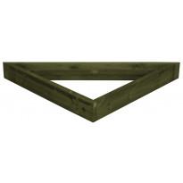 Terassielementti Kulmakehikko T30 vihreä