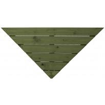 Terassielementti Kulmalaatta T31 vihreä