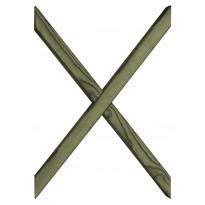 Terassielementti Ristikko puolikasaitaan T35 vihreä