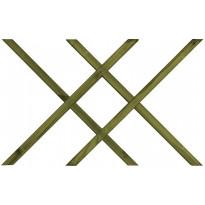 Terassielementti Tuplaristikko aitakehykseen T40 vihreä