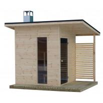 Pihasauna Suomi 100 sauna, Tammiston puu