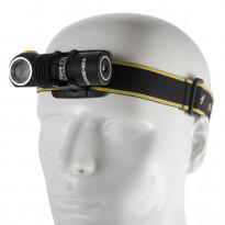 LED-otsa-/taskulamppu Armytek Tiara C1, 1050lm, magneetti-USB + 18350