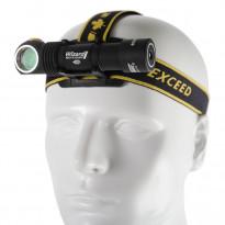 LED-otsa-/taskulamppu Armytek Wizard V3, 1250lm, magneetti-USB + 18650