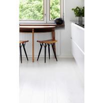 Parketti Timberwise Tammi Winter, 185mm, mattalakattu, valkoinen