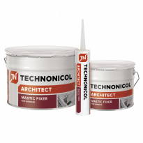 Bitumimassa Technonicol Architect, Mastic Fixer 23, 310ml, tuubi