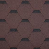 Palahuopa Technonicol Quadrille Agate, 3m²/pkt, ruskea