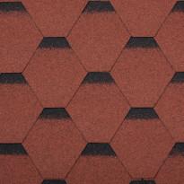Palahuopa Technonicol Quadrille Tourmaline, 3m²/pkt, punainen