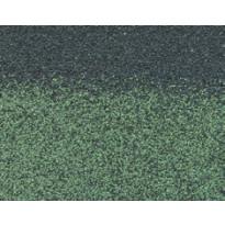 Harja/räystäspala Technonicol Quadrille Nephrite, 5 m²/pkt, vihreä