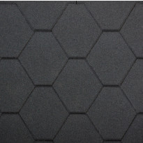 Palahuopa Technonicol Quadrille, 3m²/pkt, antrasiitin musta