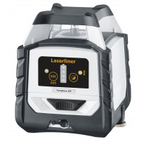 Linjalaser Laserliner DuraPlane 360 Set, jalusta + salkku