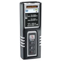 Etäisyysmittari Laserliner DistanceMaster Compact Pro, Bluetooth-liitännällä ja kulmamittarilla