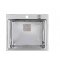 Keittiöallas Teka Zenit R15 1B CN, 600x520 mm, rst, upotettava