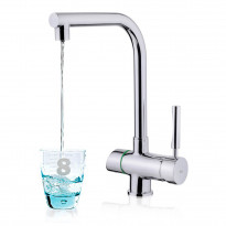 Juomavesihana Teka OS 206, suodattimella, kromi