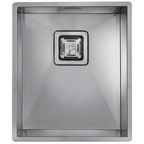 Keittiöallas Square 340.400, 370 x 430 mm, rst, alta kiinnitettävä