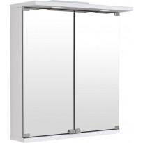 Peilikaappi Temal Basic, 2-ovinen, 50-70cm, valkoinen