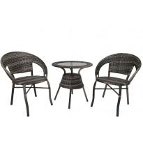 Pöytäryhmä Tenstar Falken, pöytä + 2 tuolia