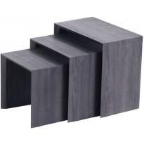 Sarjapöytä Tenstar Näpsä, harmaa