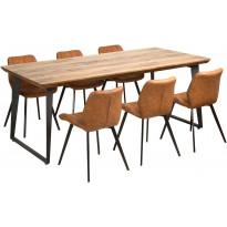 Ruokailuryhmä Tenstar, Bono-pöytä + 6kpl Marcus-tuoleja