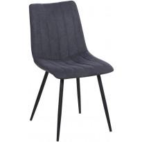 Ruokapöydän tuoli Tenstar Tosca, tummanharmaa, 2 kpl