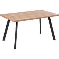 Ruokapöytä Tenstar West, 80x140cm, ruskea