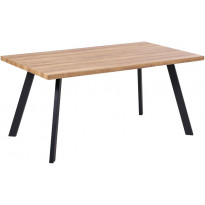 Ruokapöytä Tenstar West, 90x180cm, ruskea