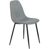 Ruokapöydän tuoli Tenstar Koo, harmaa, 4kpl