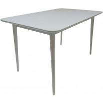 Ruokapöytä Tenstar Sophia, 80x125cm, valkoinen