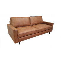 Sohva Tenstar Royan, 3-istuttava, ruskea
