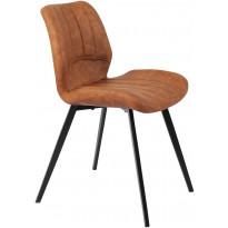 Ruokapöydän tuoli Tenstar Lucas, ruskea, 2kpl