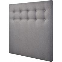 Sängynpääty Tenstar Visco, 140cm, harmaa