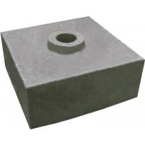 Korokekivi TEPE 240x240x100 mm ponttirakenteella harmaa