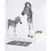 Suihkuverho Ridder Zebra 180x200 cm, tekstiili