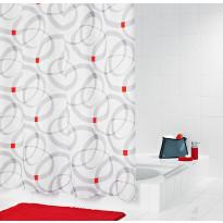 Suihkuverho Ridder Chain 180x200 cm, tekstiili