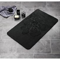 Kylpyhuonematto Ridder Diamond, 60x90, musta