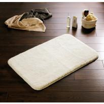 Kylpyhuonematto Ridder Istanbul, 60x50, valkoinen