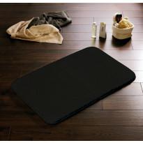 Kylpyhuonematto Ridder Istanbul, 60x50, musta