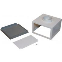 Plasmex-suodattimen asennuskotelo Thermex, seinä/katto, valkoinen