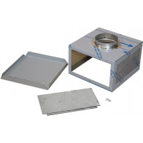 Plasmex-suodattimen asennuskotelo Thermex Vertical, yläkaappi, rst