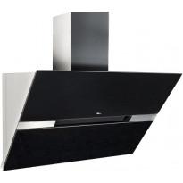 Liesituuletin Thermex Preston II, seinälle, 900mm, huippuimurille / poisto useista tiloista, musta/rst