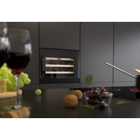 Viinikaappi Thermex Winemex 24, 55.5x44.3cm, musta, integroitava