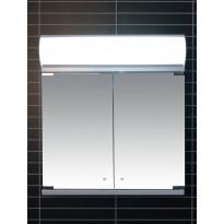 Peilikaappi LED-valaisimella Tammiholma Monza, 60x62cm, 28W