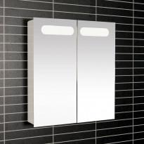 Peilikaappi LED-valaisimella Tammiholma Imola, 53x60cm, 16,2W, Verkkokaupan poistotuote